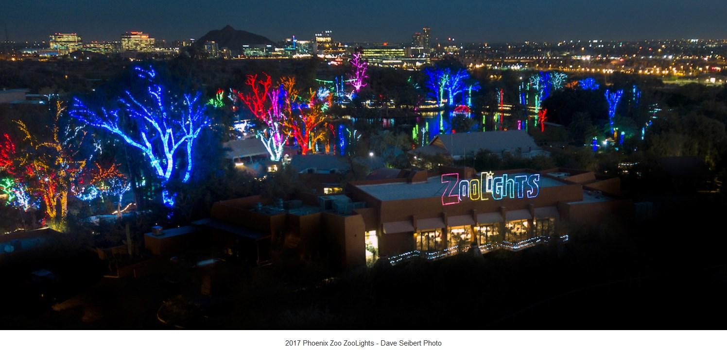 Christmas Lights Phoenix 2021 Zoolights Discounts New Info For 2020 2021 At Phoenix Zoo Bargain Believer