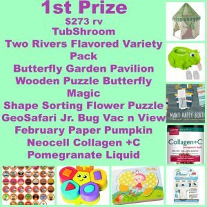 Spring Fling Grand Prize Giveaway Ends 3/31