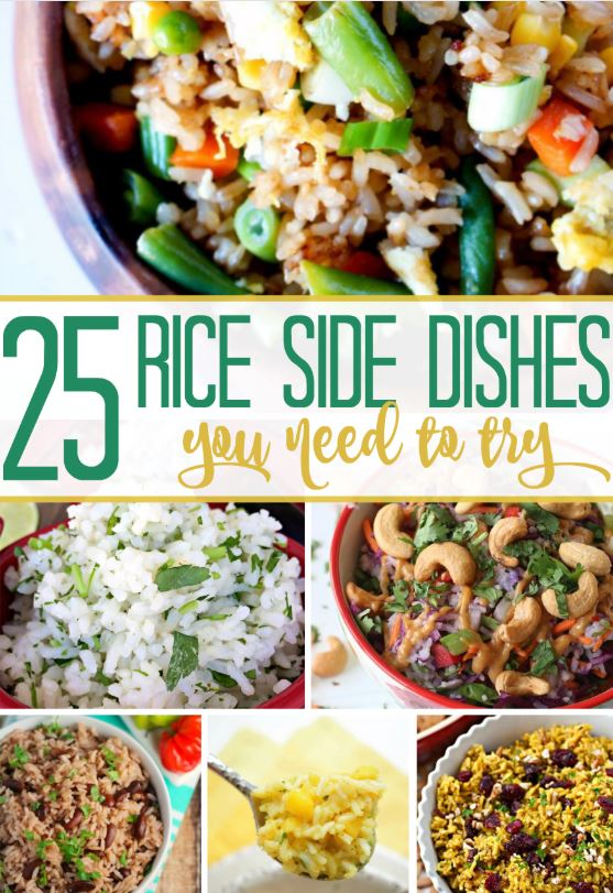 25 Rice Side Dishes!