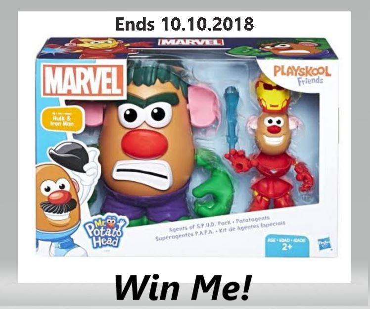 Win A Mr. Potato Head Marvel Agents of S.P.U.D. Pack – Action Figures! Ends 10.10.2018