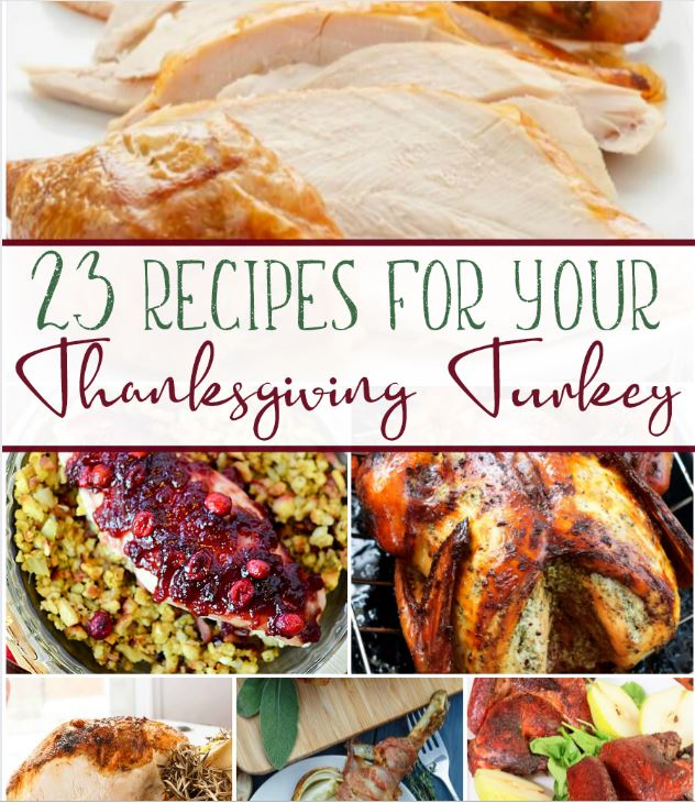 23 Recipes For Your Thanksgiving Turkey!