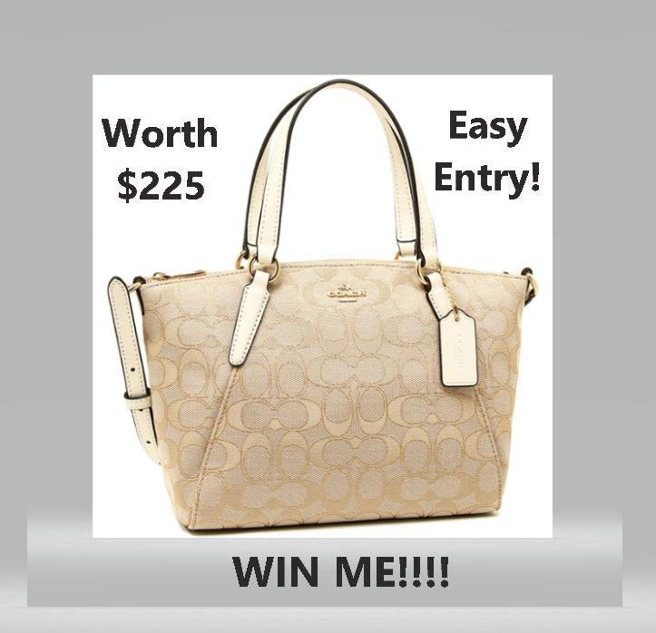 Win A Mini Kelsey Satchel In Signature Jacquard Worth $225 Ends 11.30.2018