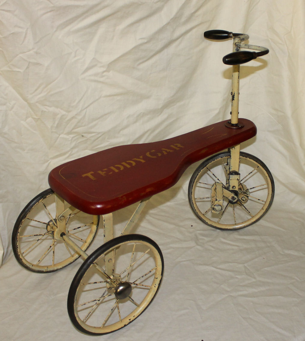 Bargain Johns Antiques Blog Archive Teddy Car Tricycle