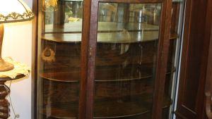Bargain John's Antiques Blog Archive Oak China Cabinet