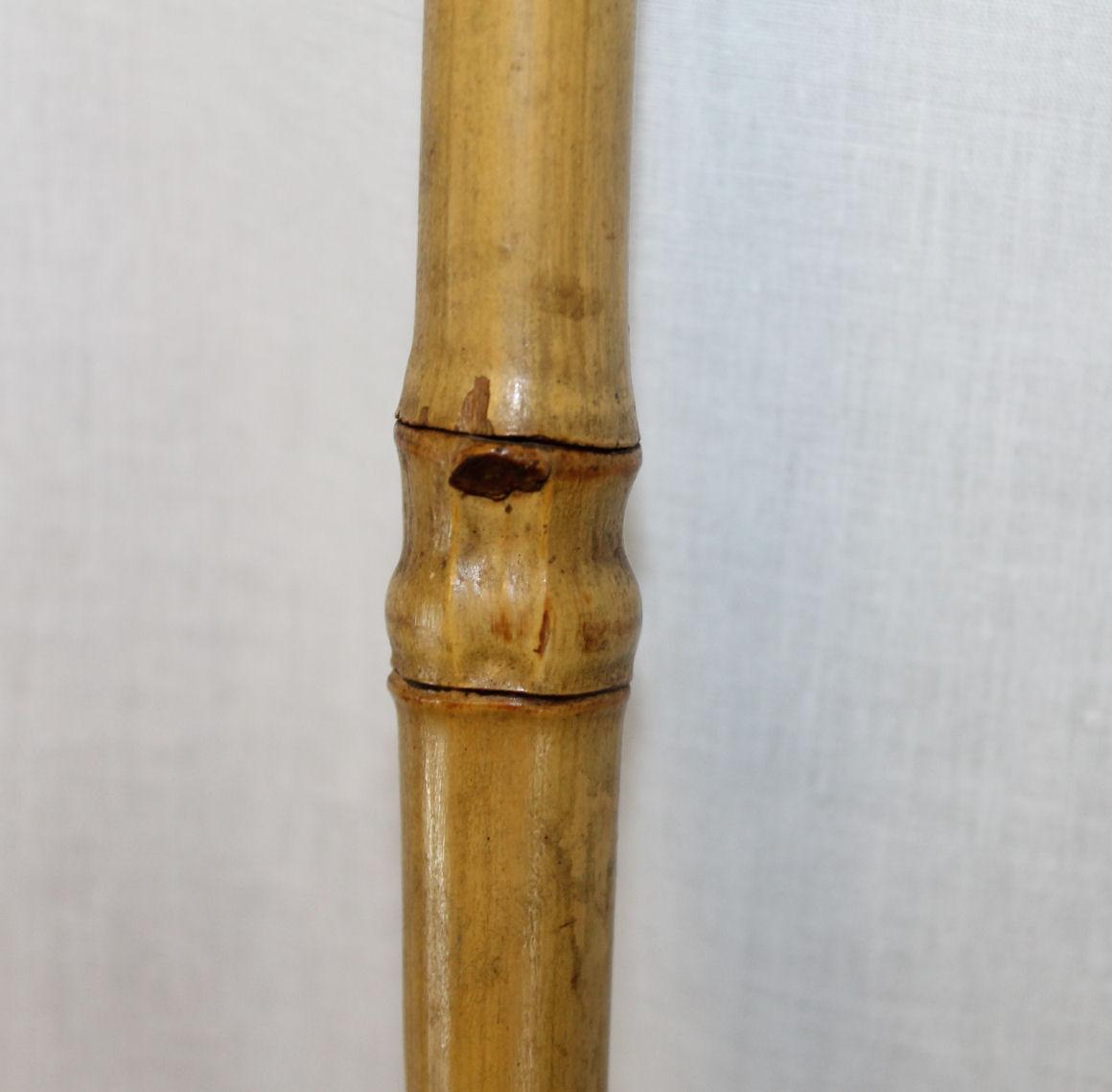 Bargain John S Antiques Dog Handle Antique Bamboo Cane