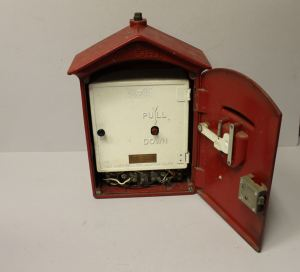 Bargain John's Antiques | Cast Iron Fire Alarm Box with