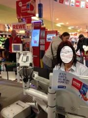 Rewe pusht Payback: Promoter, Fähnchen und Flyer