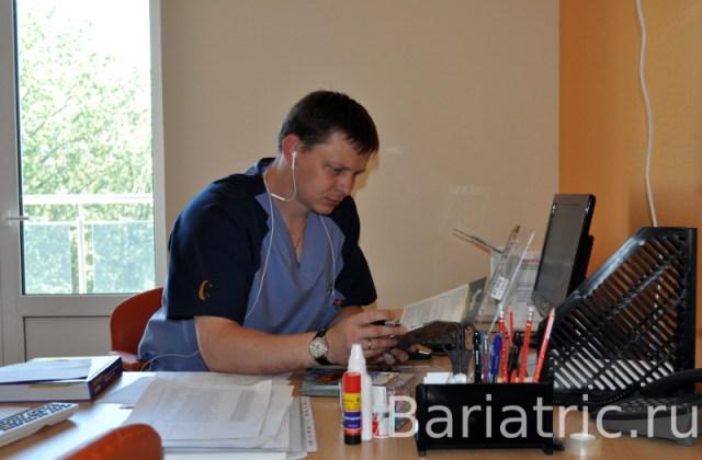 Бандажирование желудка в Сочи выполняет Попов Павел Викторович Бариатрический хирург