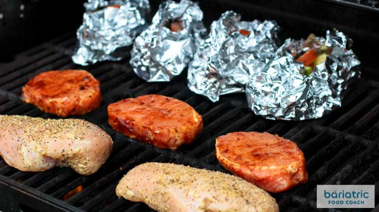 Batch Grilling Bariatric Proteins
