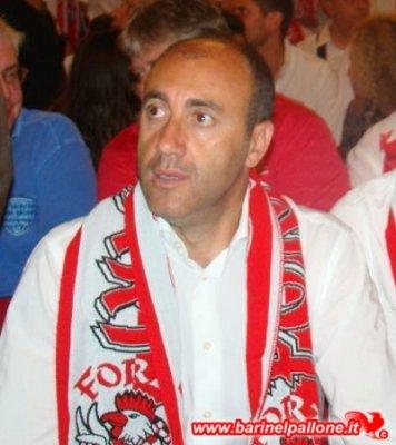 Nunzio Zavettieri, allenatore del Bari