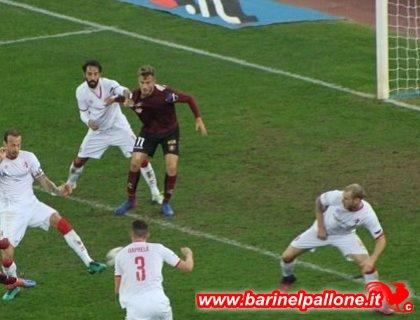 Empoli-Bari 3-2: Caputo show al Castellani, prima sconfitta stagionale per i galletti