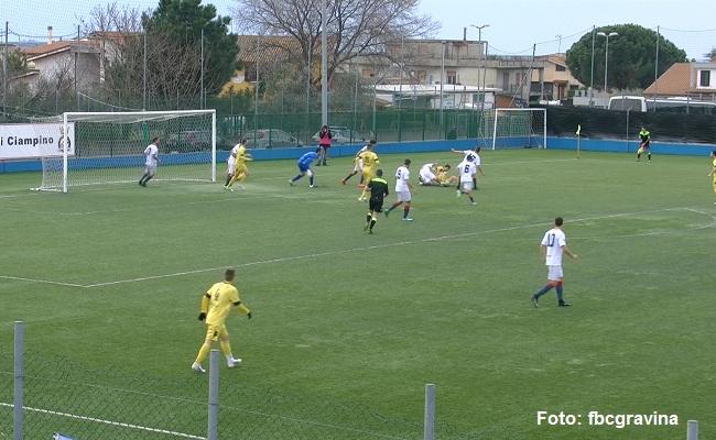 Ciampino-Gravina 2-1