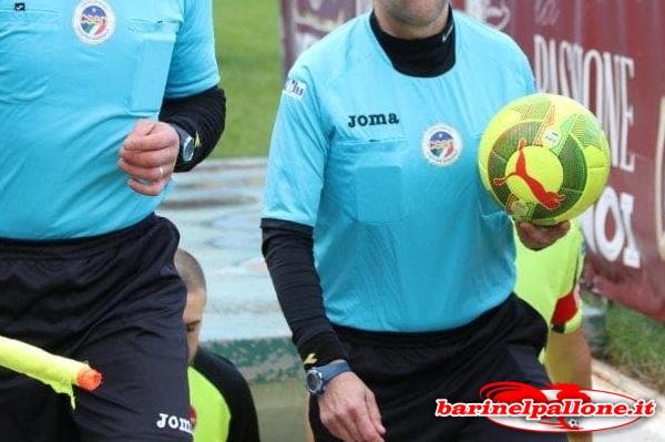 Bari-Viterbese, designato l'arbitro: sarà il sig. Marcenaro di Genova Arbitri