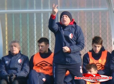 Corrado Urbano, allenatore del Bari Primavera