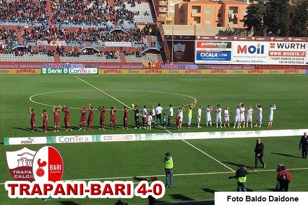 Trapani-Bari 4-0
