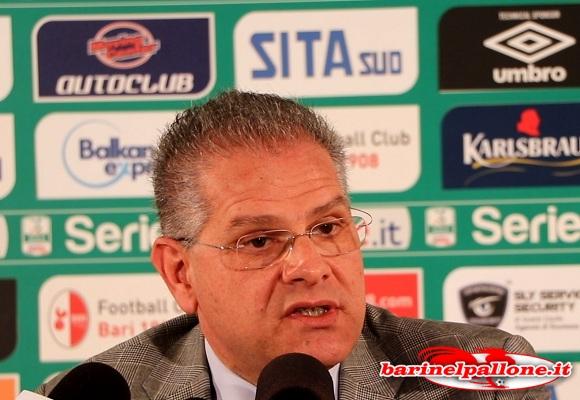 Cosmo Antonio Giancaspro (Presidente del Bari)
