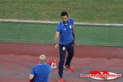 Fabio Grosso, allenatore del Bari