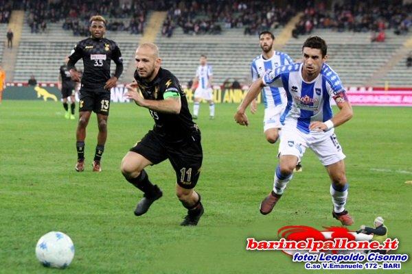 Cristian Galano domenica scorsa contro il Pescara