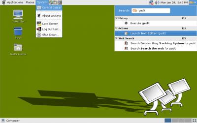 GNOME 2.18