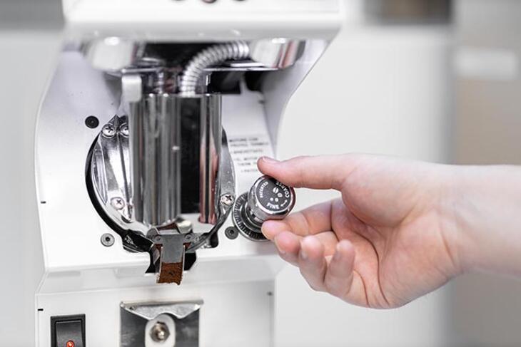 espresso grinder - grind size