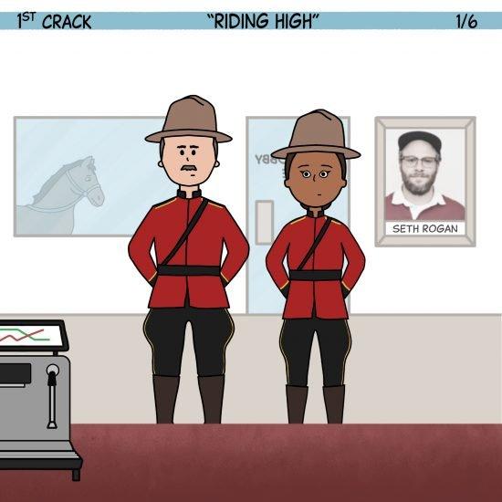 1st Crack, a Coffee Comic 22 de mayo de 2021 Panel 1
