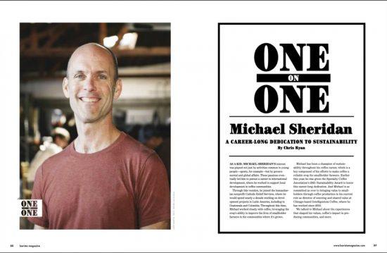 One on One Michael Sheridan se separó de la edición de junio + julio de 2021.