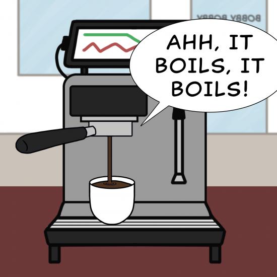 Primer cómic de Crack a Coffee para el fin de semana - 7 de agosto de 2021 Panel 6