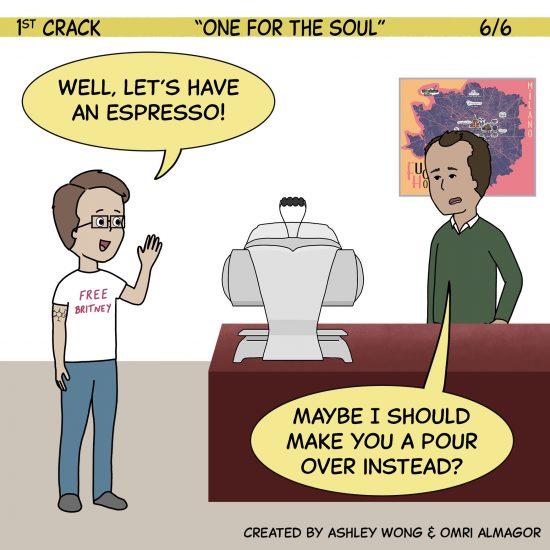 Primer cómic de Crack a Coffee para el fin de semana - 2 de octubre de 2021 Panel 6
