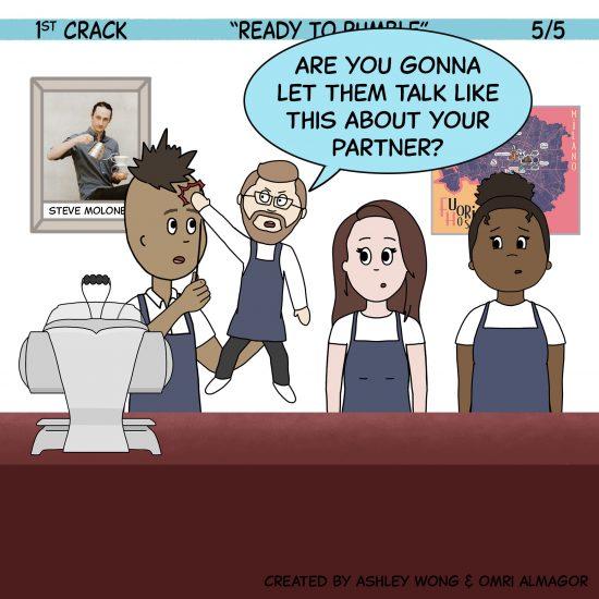 Primer cómic de Crack a Coffee para el fin de semana - 16 de octubre de 2021 Panel 5