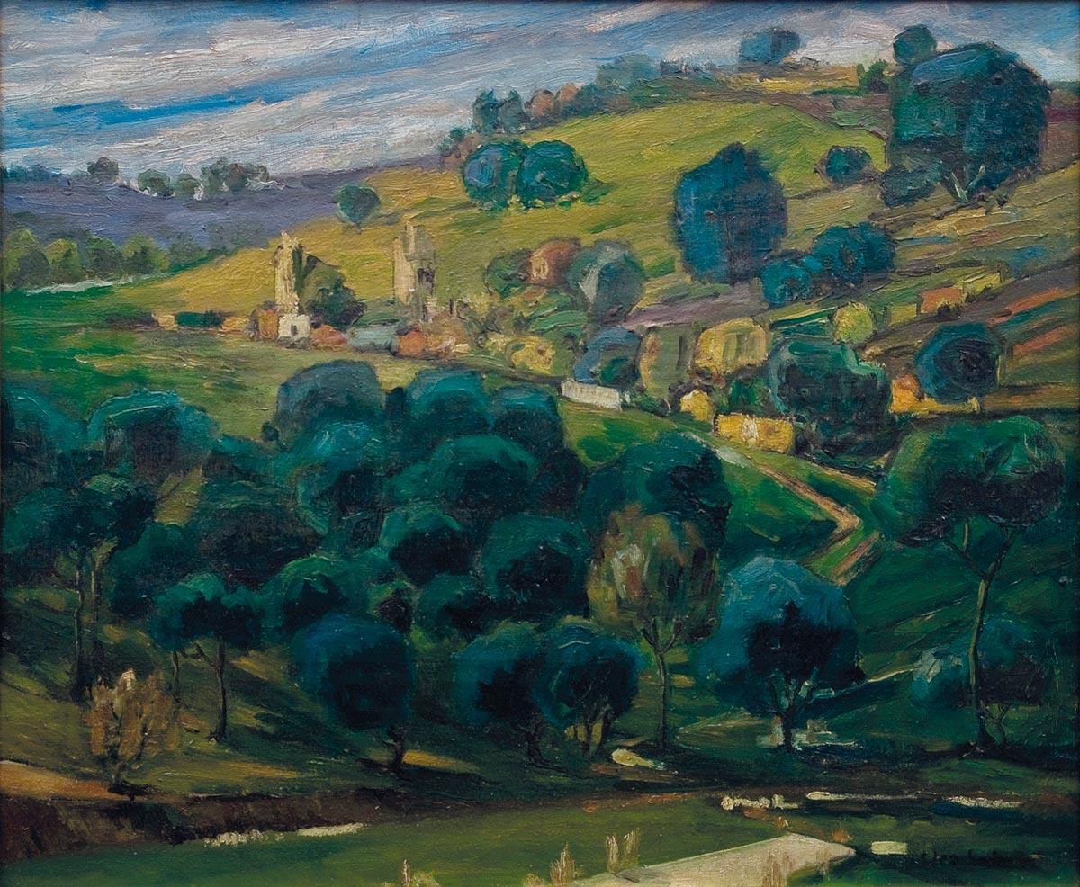 Landscape Barjeel Art Foundation