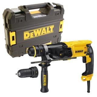 DeWalt D25134K-QS SDS-Plus 3 üzemmódú fúrókalapács Minden termék
