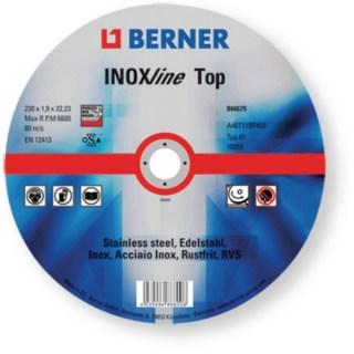 BERNER Vasvágókorong 125×1.0x22.23 Minden termék