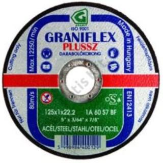 Graniflex Fém vágókorong125X2.0X22.2 Minden termék