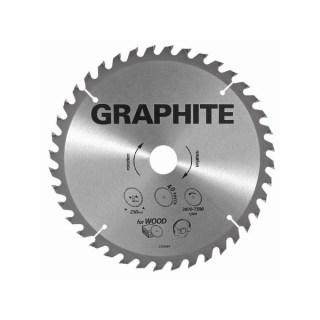 GRAPHITE Körfűrészlap 165X30 Z 24 Minden termék