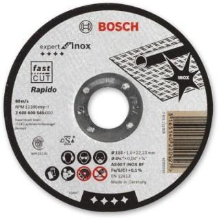 BOSCH Expert for Inox vágókorong 115x1mm Minden termék