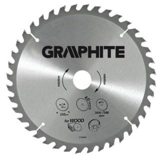 GRAPHITE Körfűrészlap 160 X30 Z 18 Minden termék