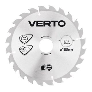 Verto Körfűrészlap185X30 mm 24 fog Minden termék
