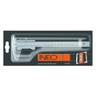 Neo Rozsdamentes acél tolómérő 150 mm (75-001) Minden termék