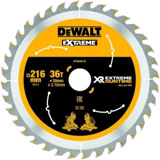 DeWALT DT99569-QZ Körfűrészlap 216mm / 30mm (36 fogú) Minden termék