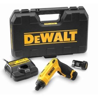 DeWALT DCF680G2-QW 7,2V Mozgás aktivált csavarozó-készletben Minden termék