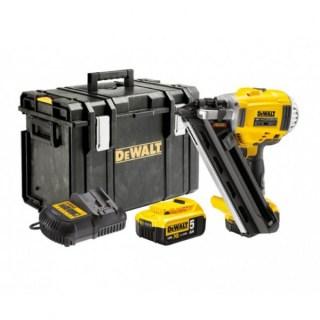 DeWALT DCN650P2-QW akkus szegbelövő  18V XR 2×5,0Ah Minden termék