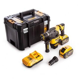 DeWALT SDS-Plus DCH334X2-QW akkus fúrókalapács 54V XR 2×9,0Ah Minden termék