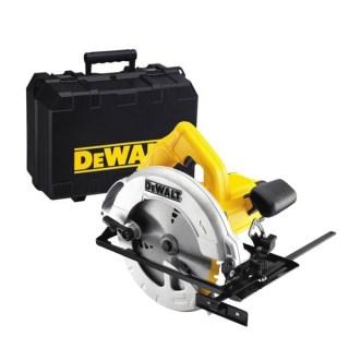 DEWALT DWE560K Körfűrész kofferben (1350W/184mm) Minden termék
