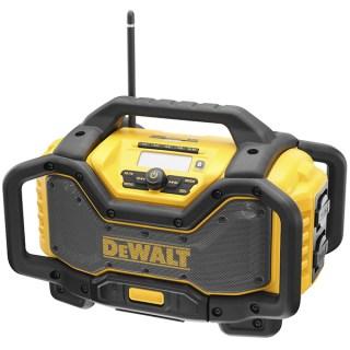 DeWALT DCR027-QW Flexvolt rádió és töltő Bluetooth+DAB Akku nélkül Minden termék