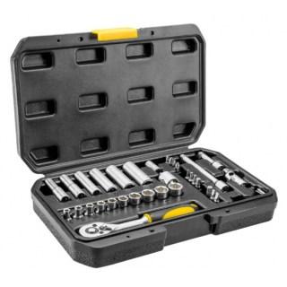 Topex Dugókulcs készlet 38D669 36 R 1/4˝ Minden termék