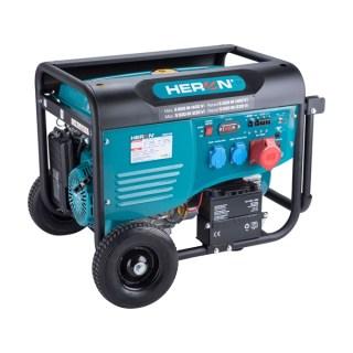 Benzinmotoros áramfejlesztő, max 6000 VA, háromfázisú, önindítós Minden termék