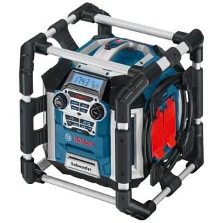 BOSCH GML 50 PowerBox Akkus rádió és töltő 50W 14,4V–18V Akku és töltő nélkül! Minden termék