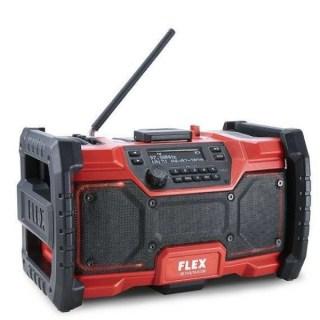 FLEX RD 10.8/18.0/230 Akkus rádió, digitális 10,8V/18V Akku és töltő nélkül! Minden termék