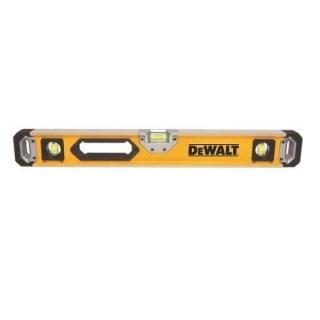 DeWALT DWHT0-43224 Vízmérték 600 mm 3 lib. ipari ütésálló Minden termék