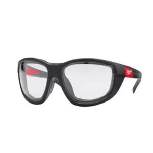 MILWAUKEE Prémium védőszemüveg tömítéssel, víztiszta (4932471885)